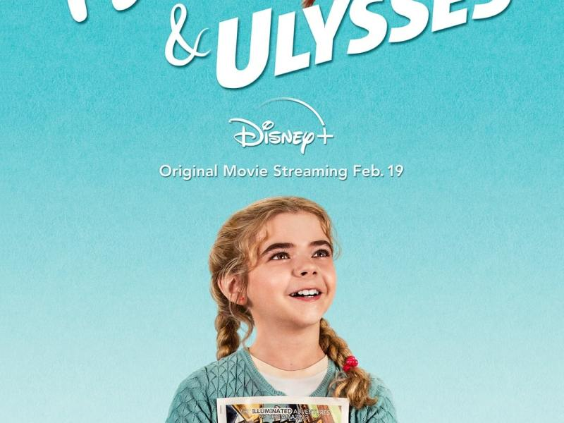 The Flora & Ulysses Movie Poster