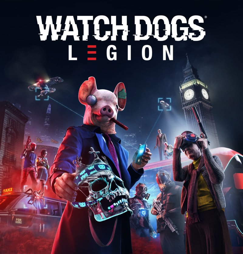 The Watch Dogs: Legion Cover Art