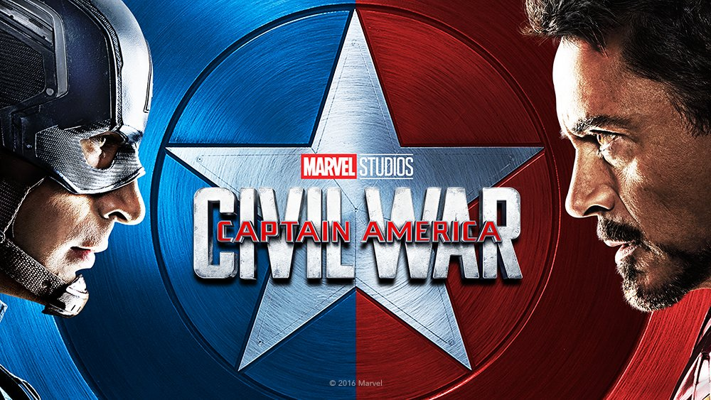 Captain America Civil War Cover Art