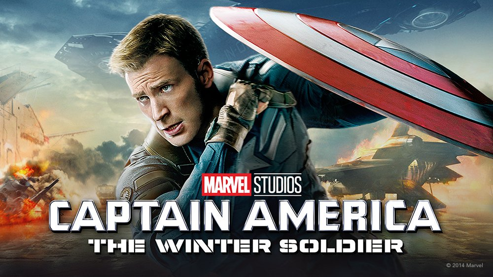 Captain America The Winter Soldier Cover Art