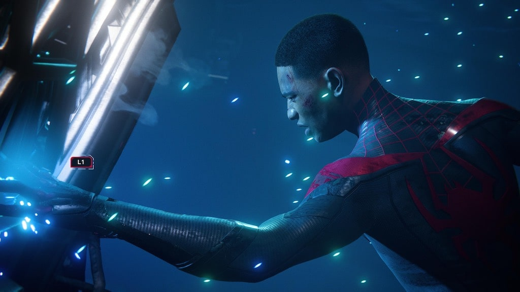 The stunning graphics of Spider-Man Miles Morales