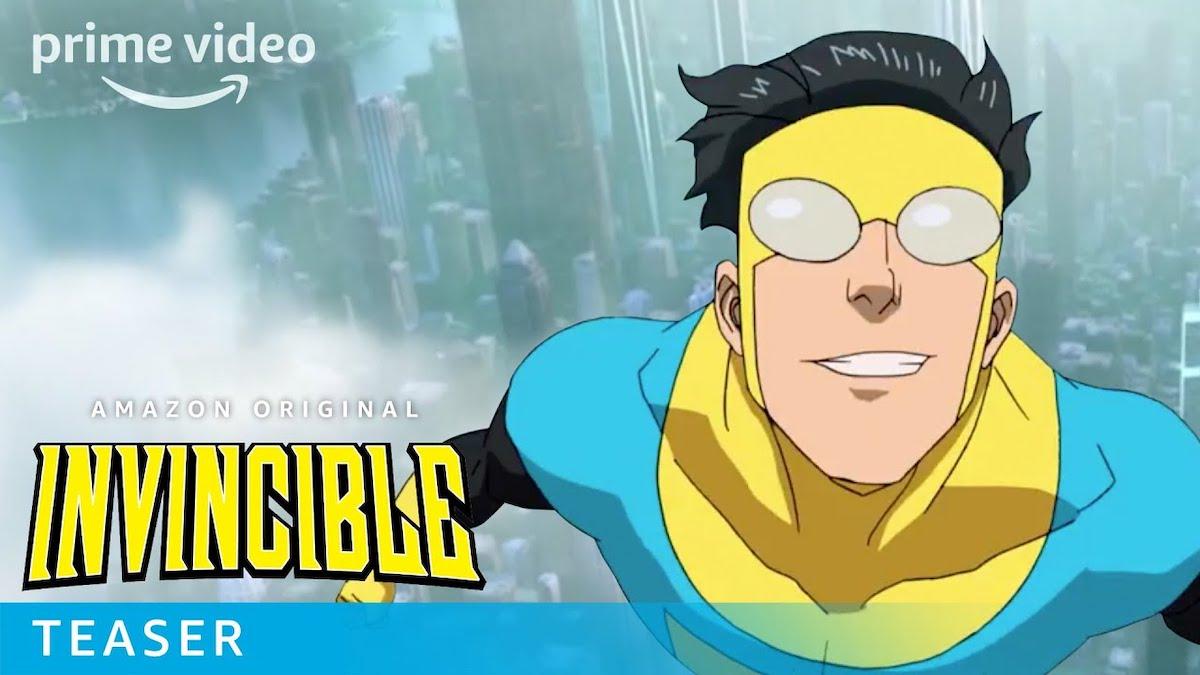 Amazon Original Invincible Cover Photo Prime Video