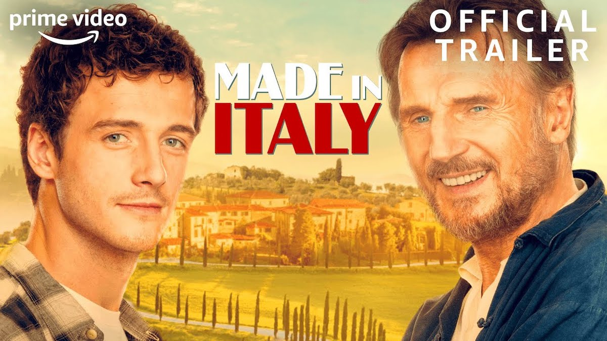 Made in Italy official trailer cover photo