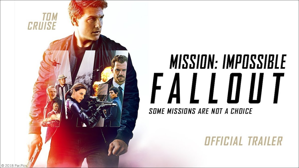 Mission: Impossible Fallout trailer cover photo Tom Cruise