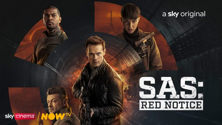 SAS: Red Notice cover art by Sky Cinema