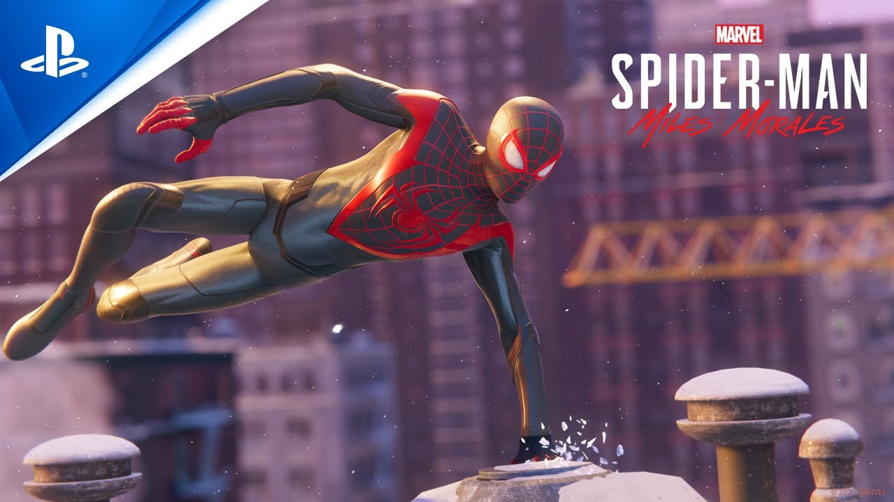 Spider-Man: Miles Morales trailer cover photo Playstation