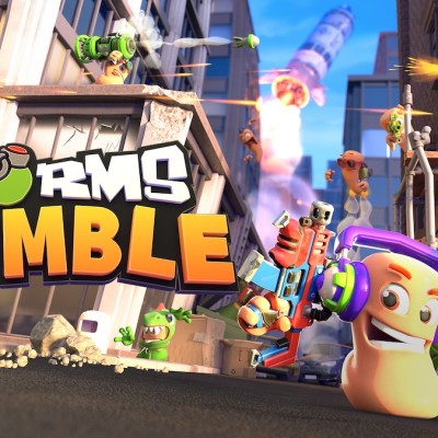 The Worms Rumble Cover Art