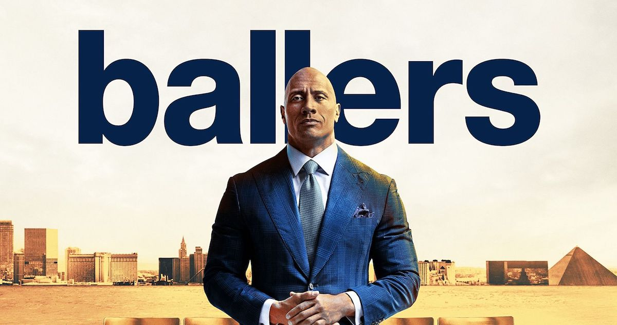 The Ballers Season 1 artwork Dwayne Johnson
