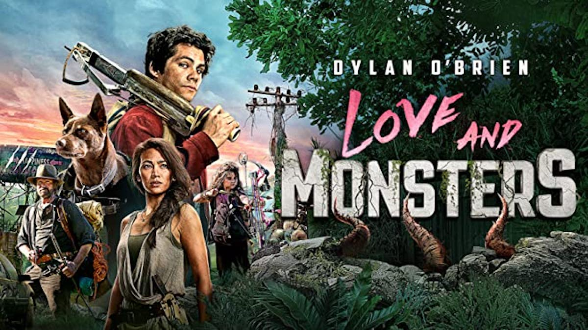 Love and Monsters cover photo featuring Dylan O'Brien