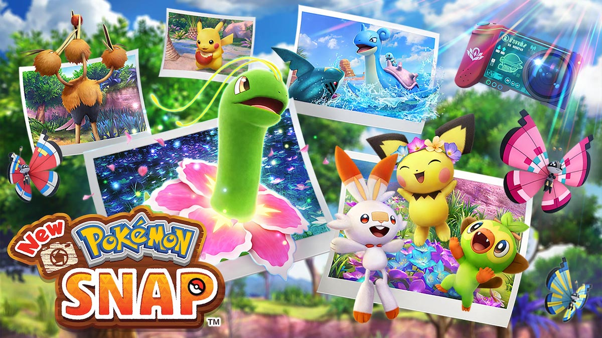 New Pokémon Snap artwork for the Nintendo Switch