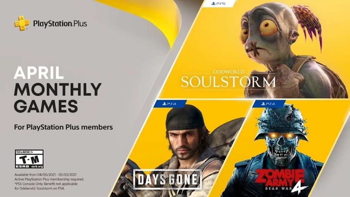 PlayStation Plus Games April 2021