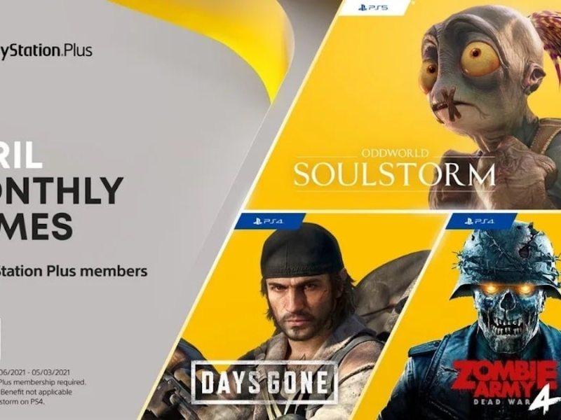 PlayStation Plus Games April 2021