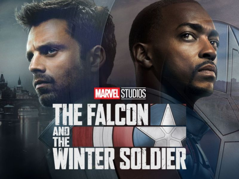 The Falcon and The Winter Soldier Cover artwork