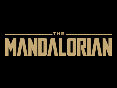 The Mandalorian title sequence black background