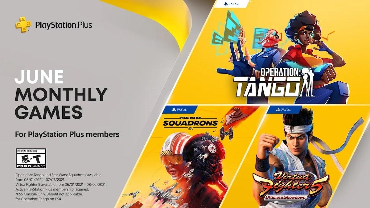 PS Plus Games June 2021 PS5 PS4