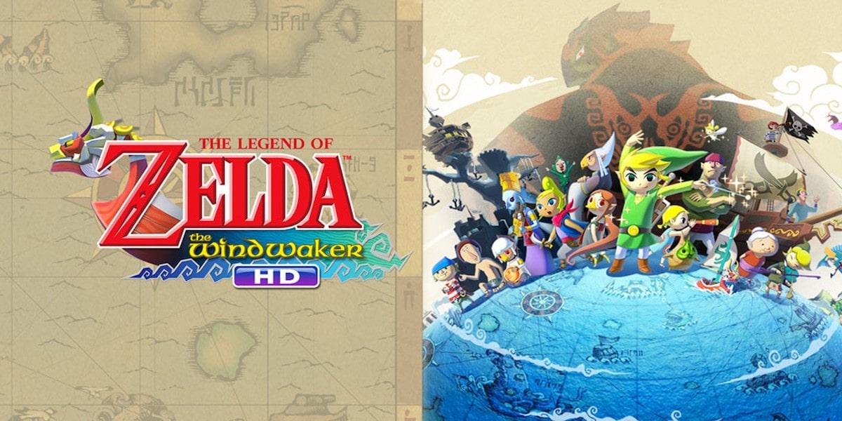 The Legend of Zelda The WindWaker HD Cover Art