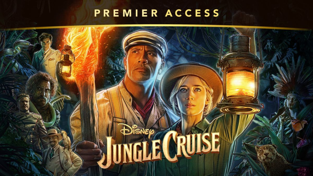 Jungle Cruise available on Disney+ Premier Access
