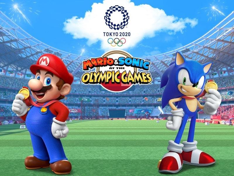 Mario & Sonic at the Olympic Games Tokyo 2020 Game Art