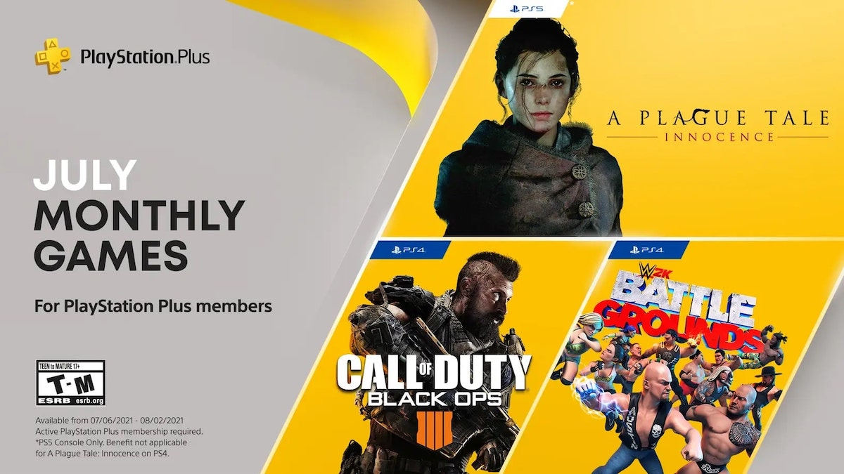 PlayStation Plus Games July 2021