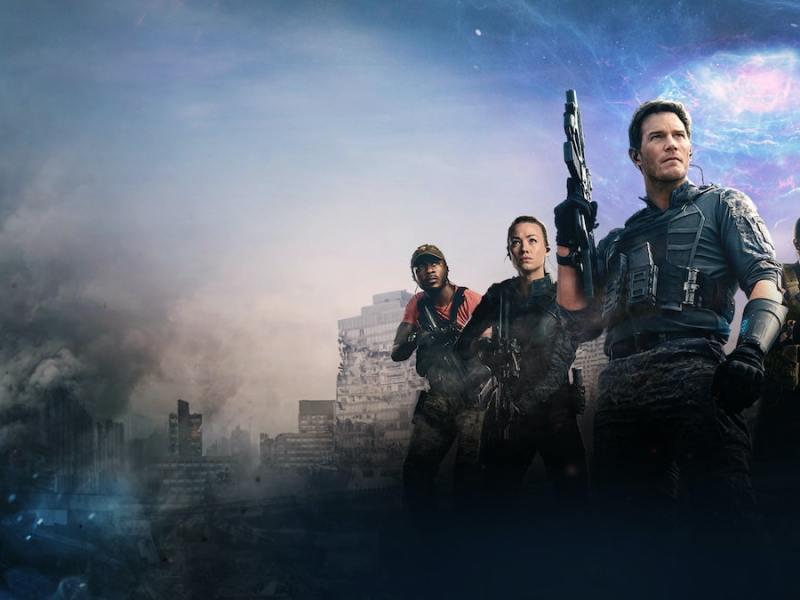 The Tomorrow War Amazon Prime Video Cover Art