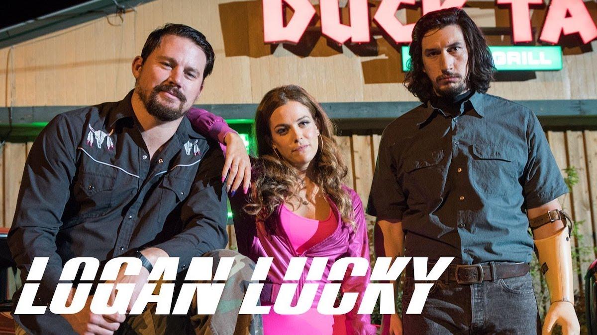Logan Lucky trailer featured image Channing Tatum Adam Driver