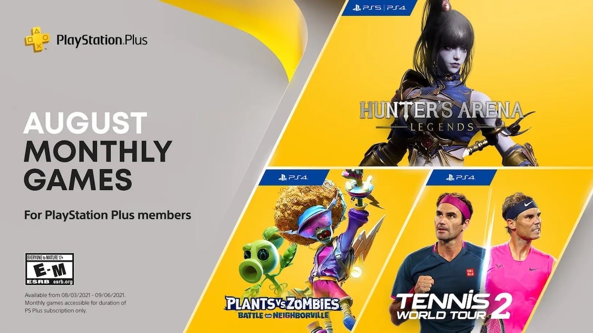 PlayStation Plus Games August 2021