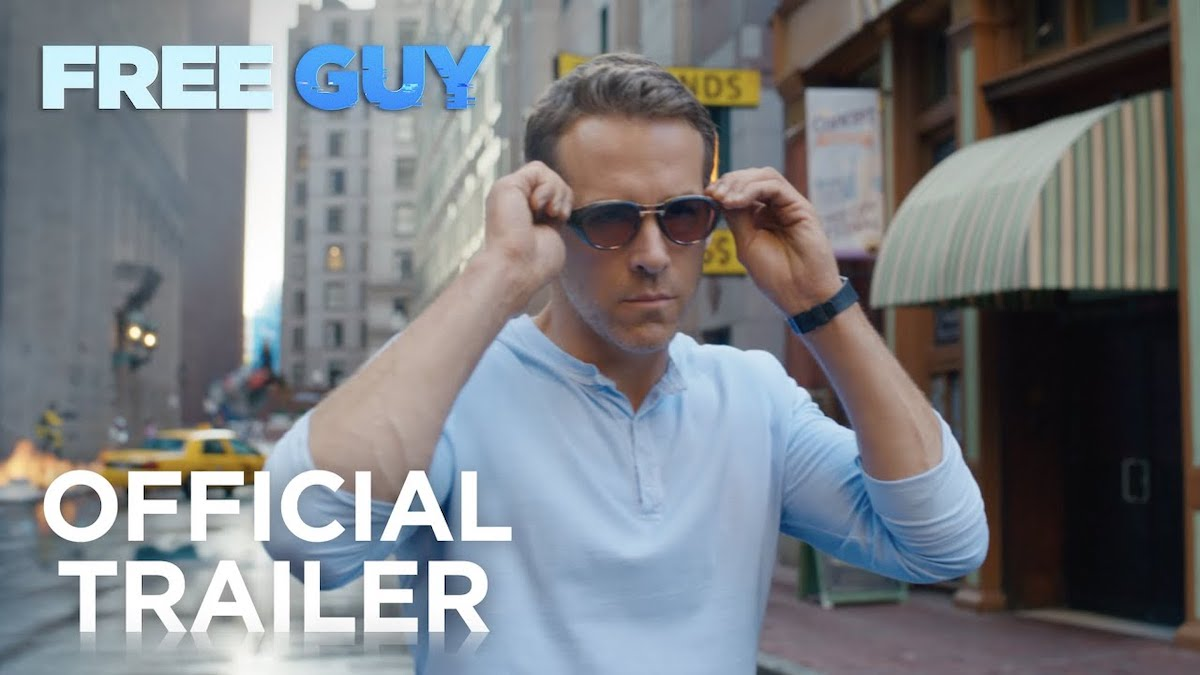 Free Guy Official Trailer Ryan Reynolds