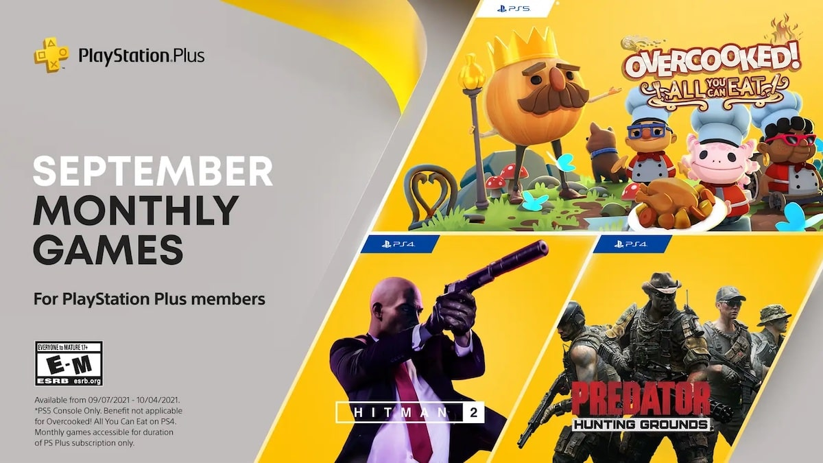 PlayStation Plus Games September 2021